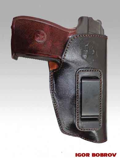 Кобура скрытого ношения пистолета Макарова (ПМ) внутри брюк