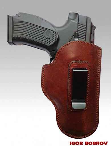 Пистолет Ярыгина в кобуре скрытого ношения