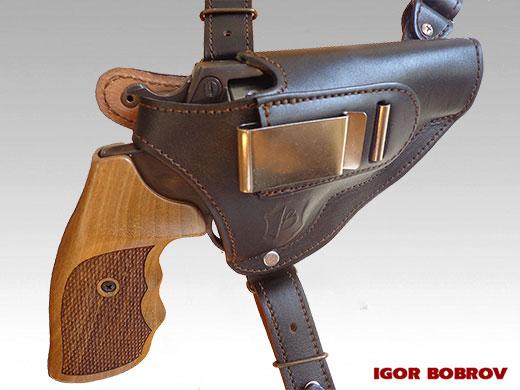Купить универсальную кобуру для револьвера Гроза Р-03(С)